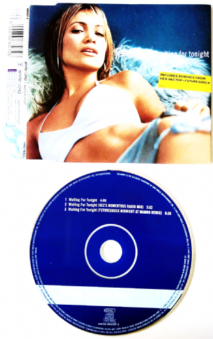 Jennifer Lopez ‎- Waiting For Tonight (CD Single Pt 1) (VG-/VG)